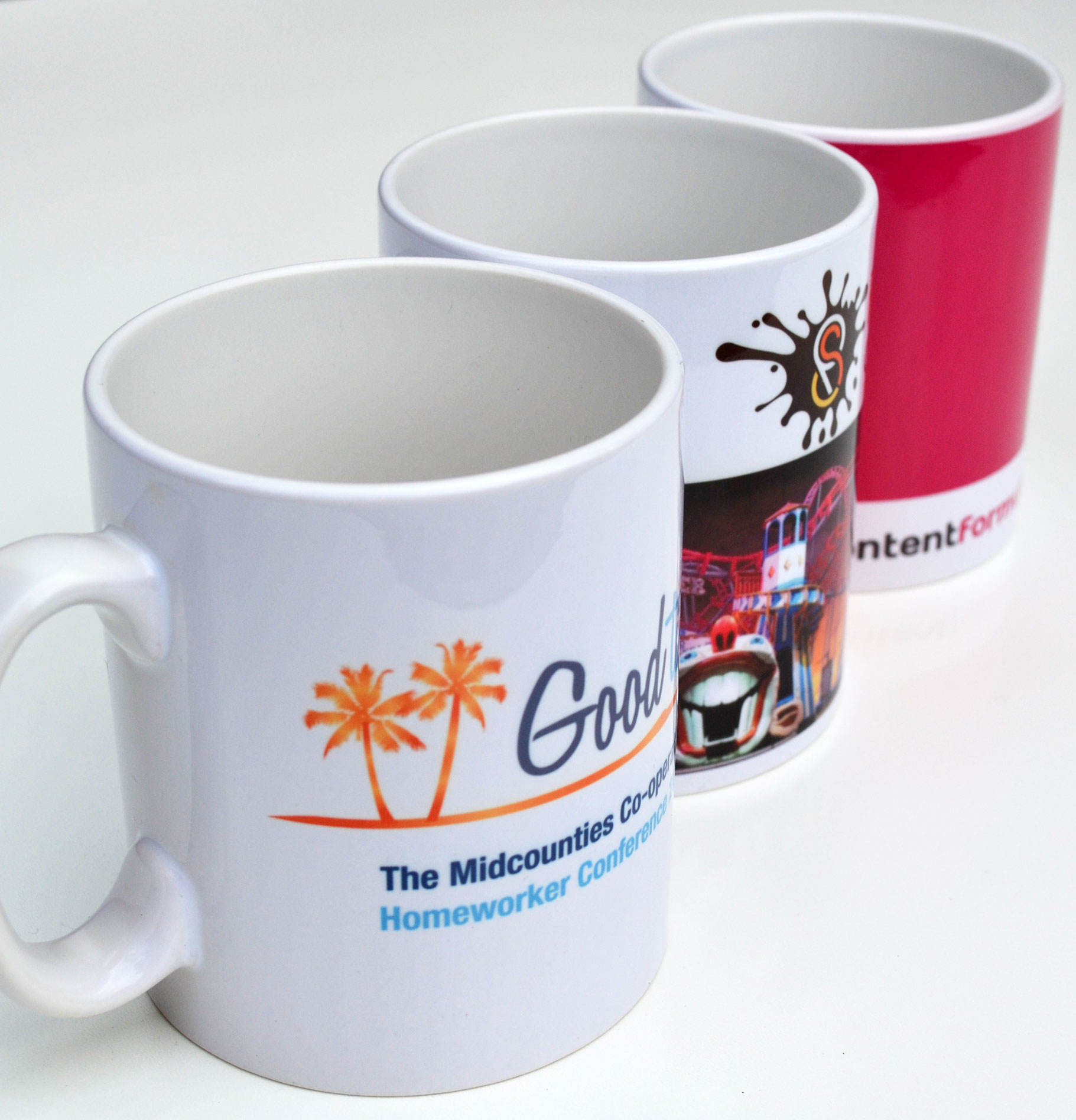 Promotional Pic 330 ml ceramic sublimation mug