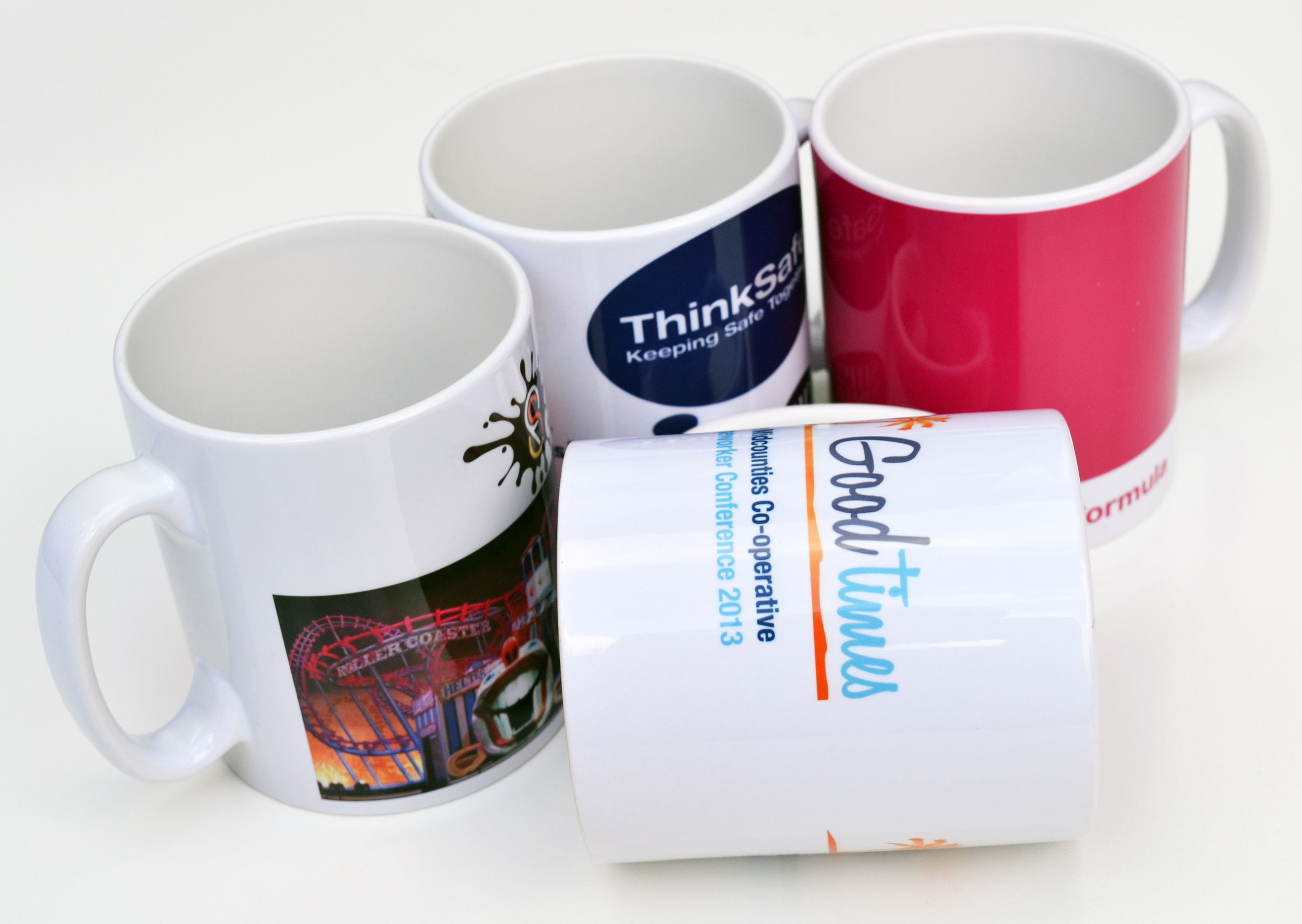 Printed Pic 330 ml ceramic sublimation mug