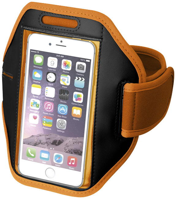 Branded Gofax smartphone touch screen arm strap