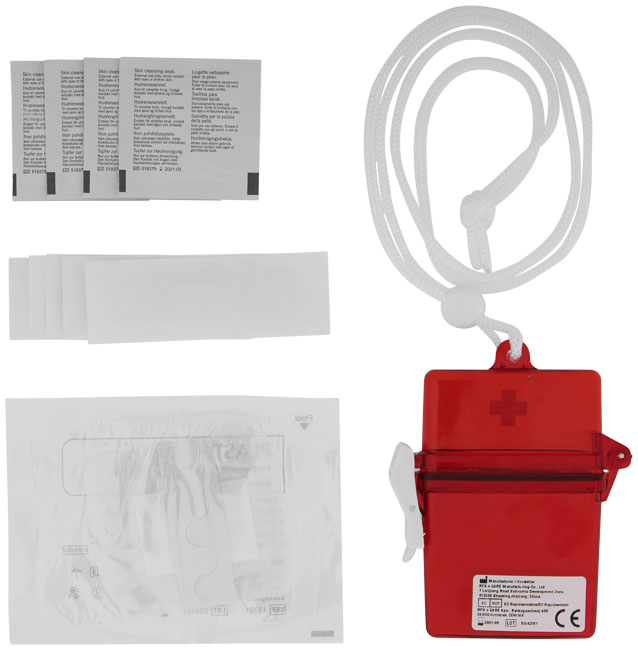 Promotional 10 piece first aid kit