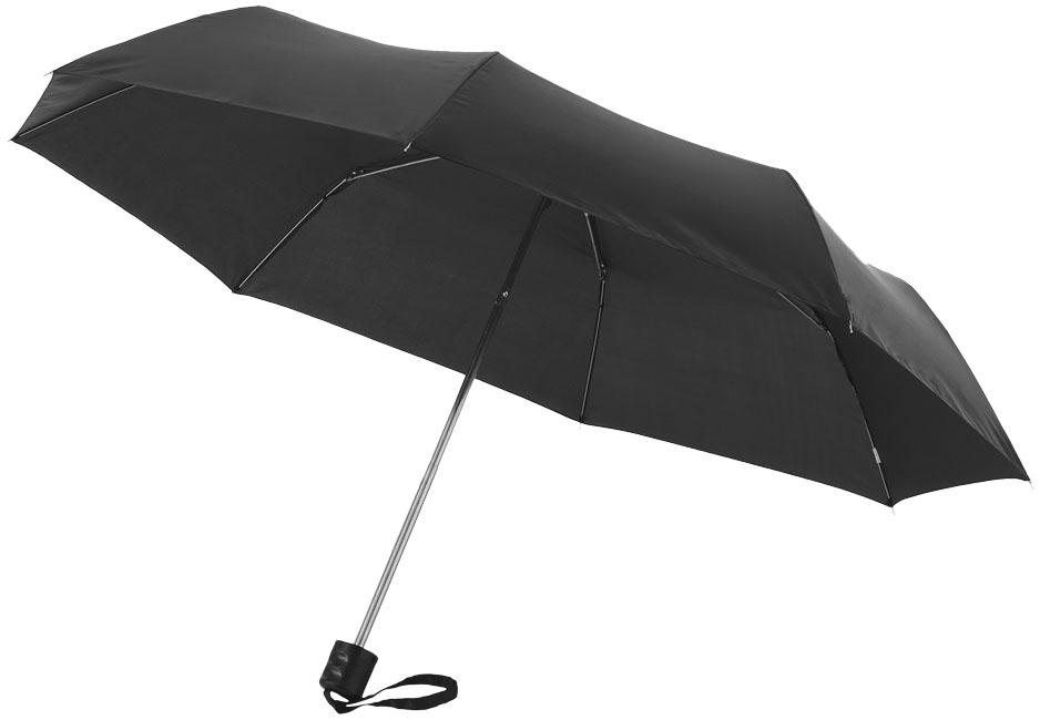 Printed 21,5'' Ida 3-section umbrella