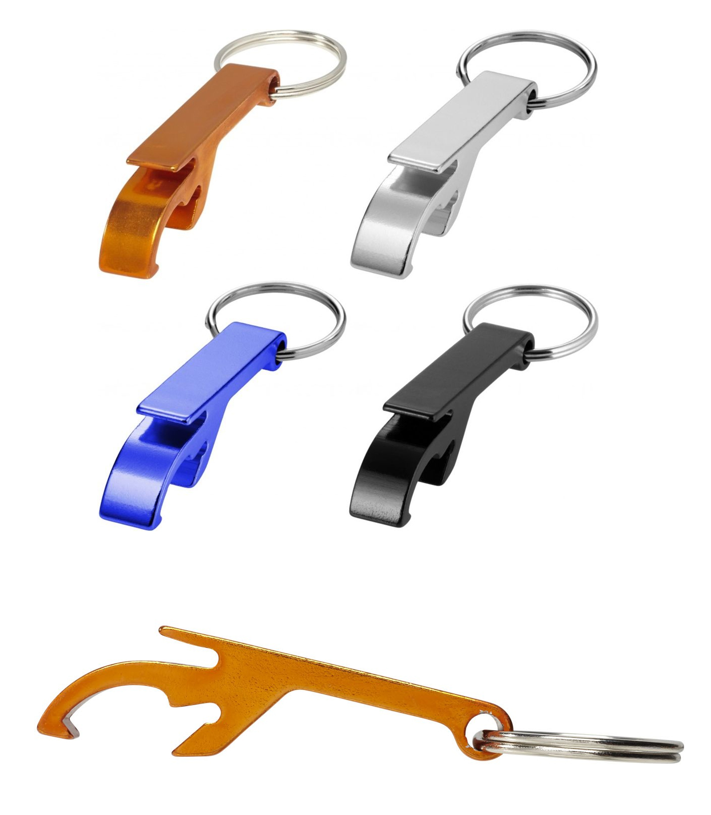 Promotional Tao alu bottle and can opener key chain