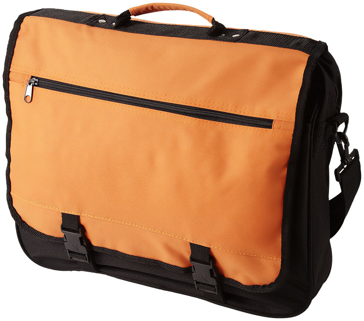 Promotional Anchorage 2-buckle closure conference bag
