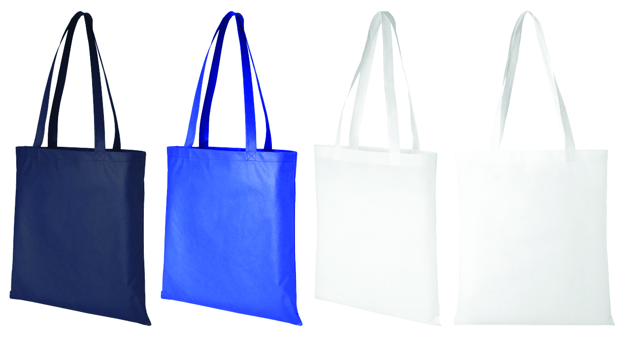 Promotional Zeus large non-woven convention tote bag