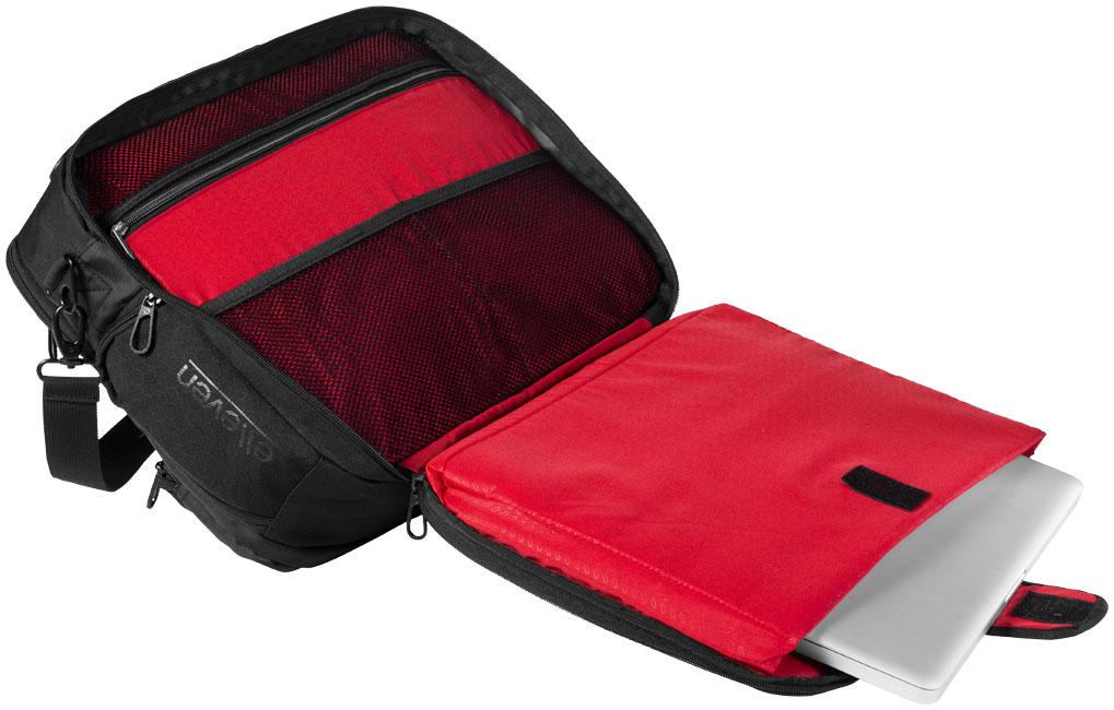 Business Vapor checkpoint friendly 17'' laptop attaché