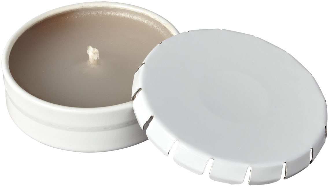 Promotional Bova scented candle in tin