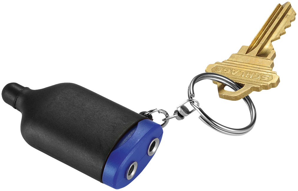 Promotional 2-IN-1 Music Splitter Keychain with Stylus
