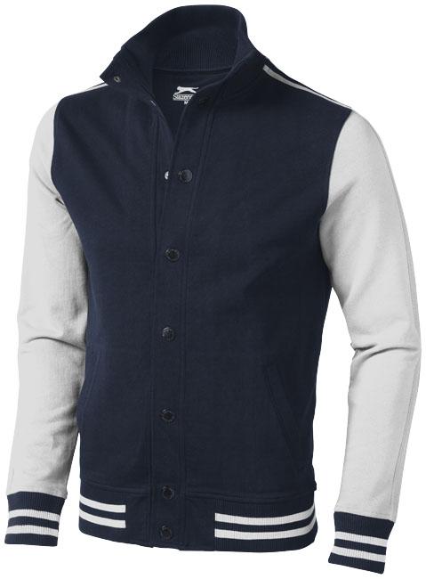 ImPrinted Varsity sweat jacket