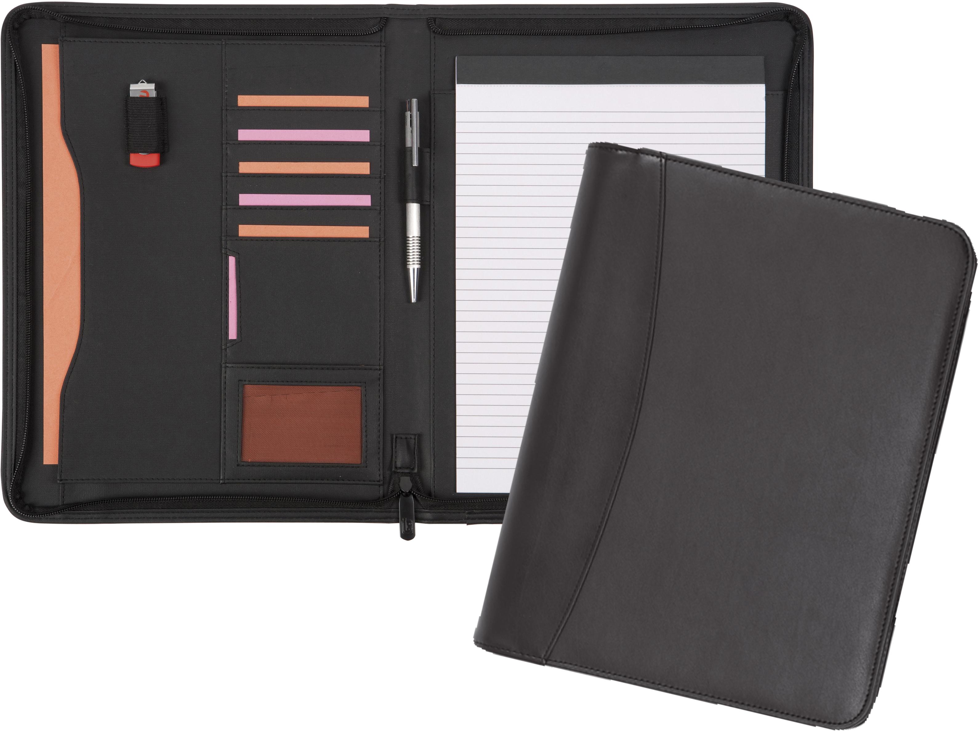 Promotional Pembury Zipped Conf Folder Oversized A4