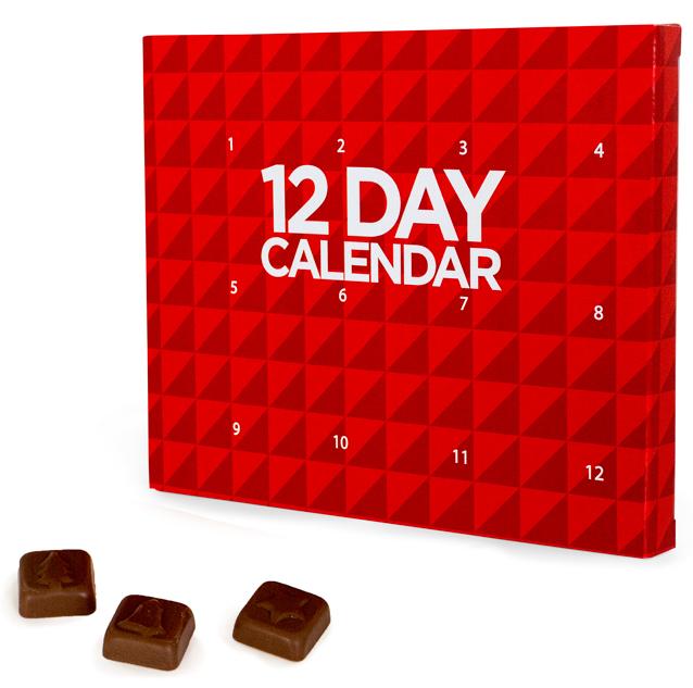 Branded 12 Day Calendar