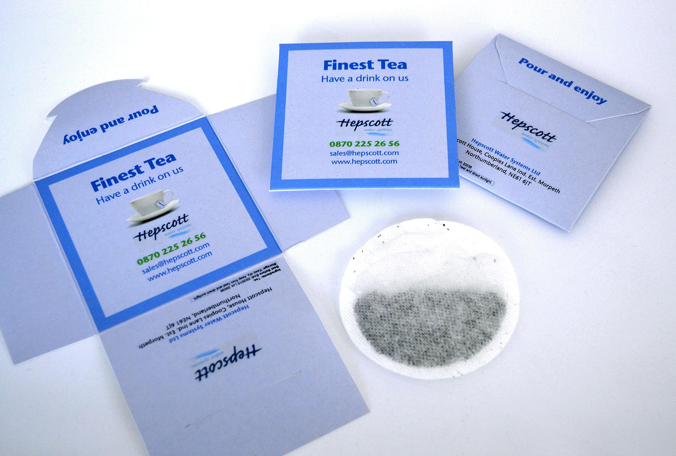 Promotional Teabag Envelope