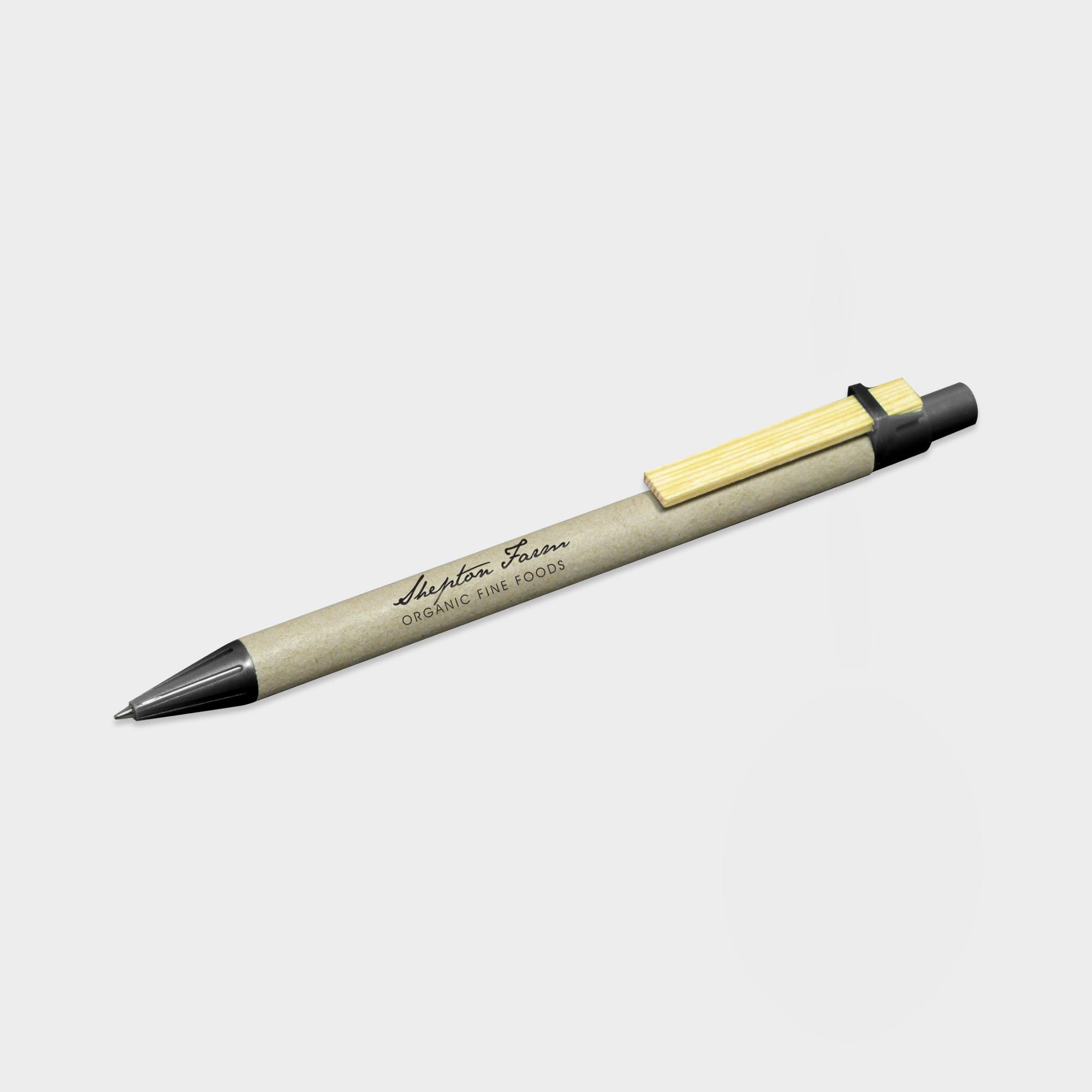 Promotional Storia Recycled Pen with Flat Clip