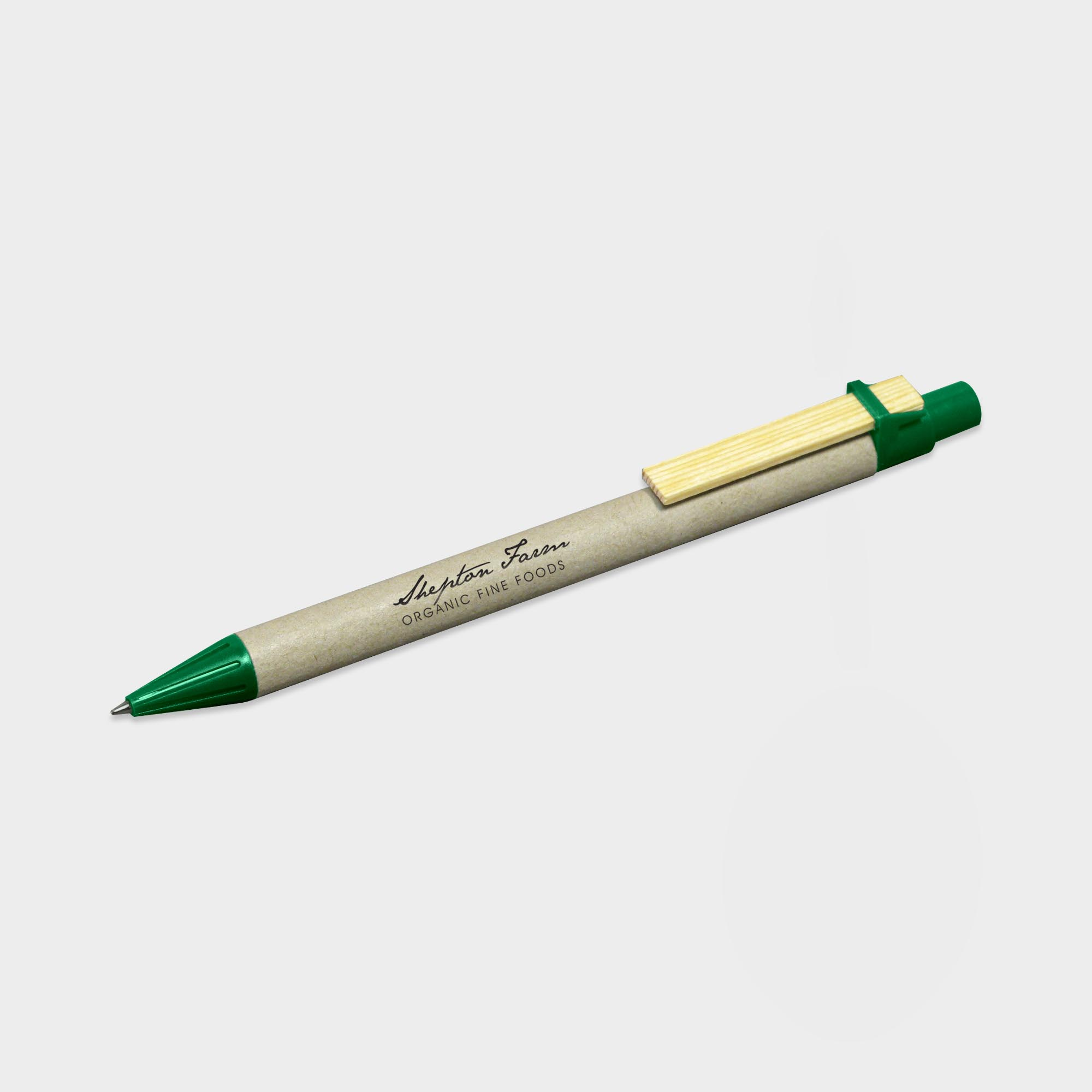 Printed Storia Recycled Pen with Flat Clip