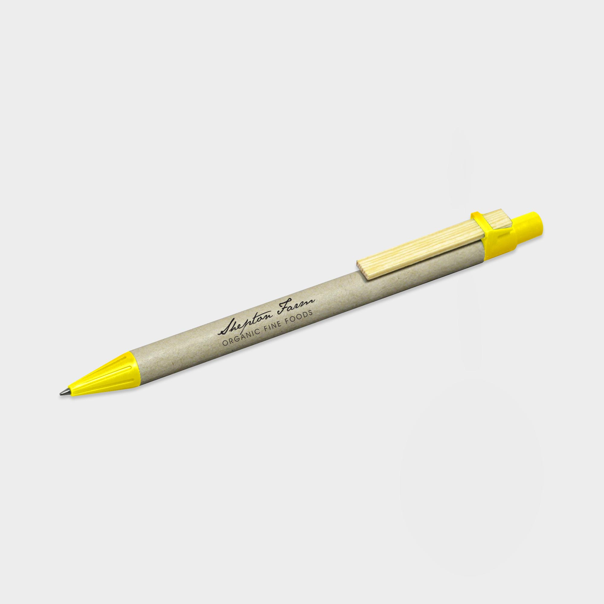 ImPrinted Storia Recycled Pen with Flat Clip