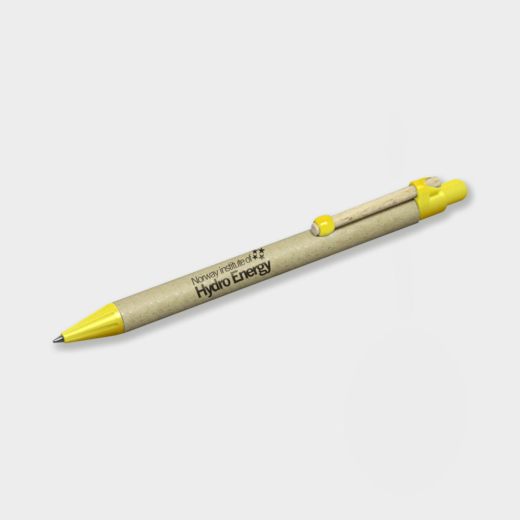 Promo Storia Recycled Pen with Flat Clip