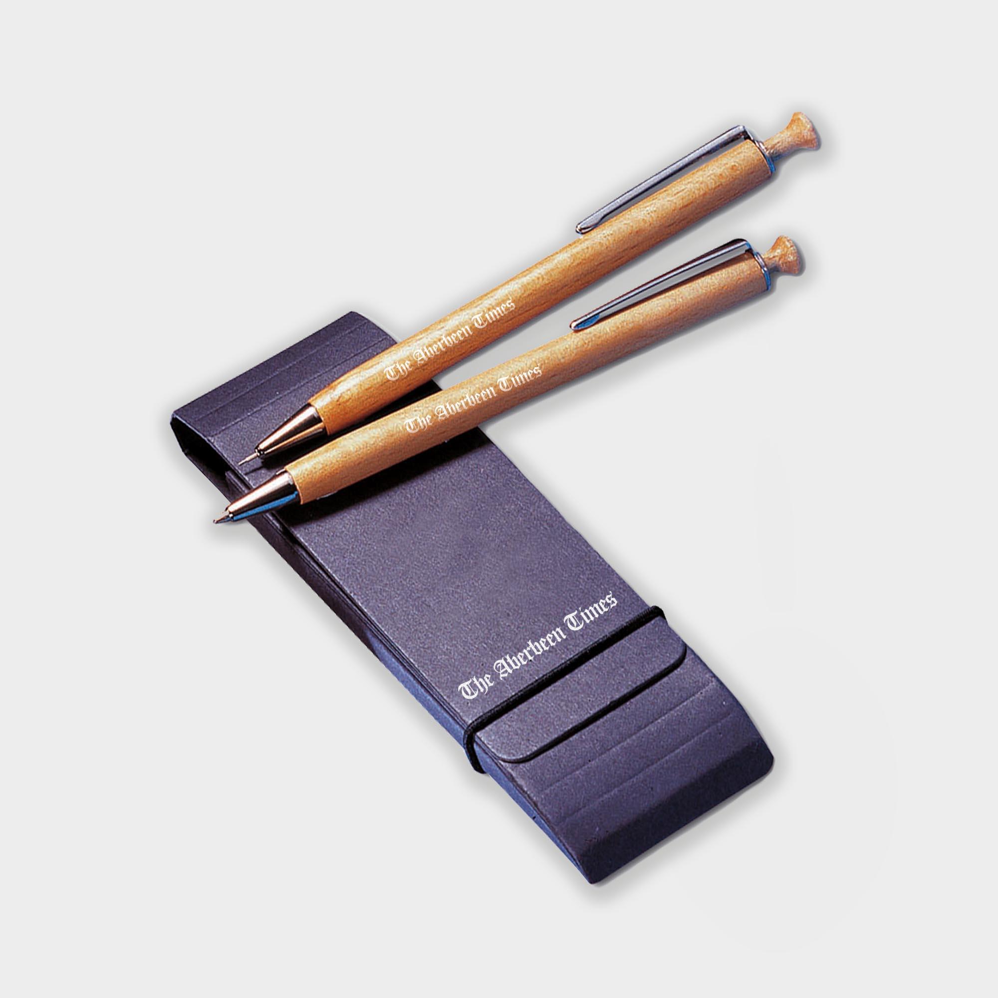 Promotional Albero Pen & Pencil Sustainable Set