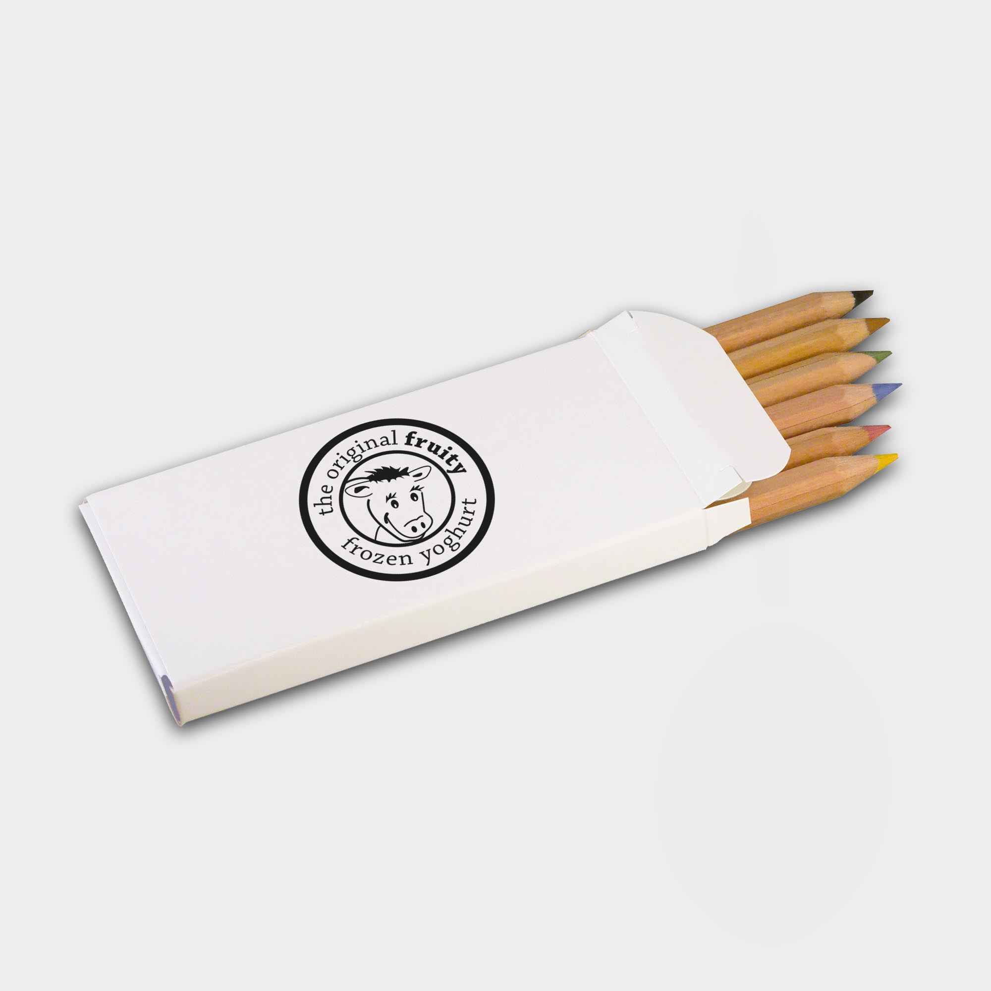 Promotional Pack of 6 Small Colouring Pencils