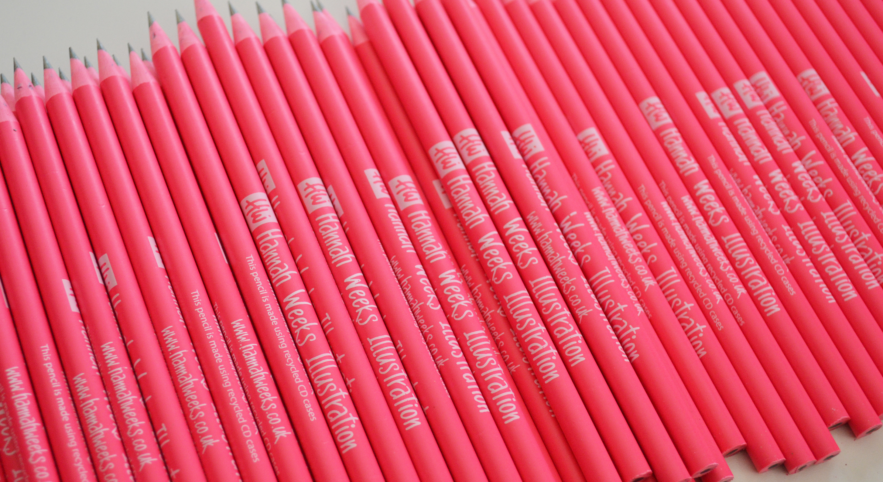 Corporate Recycled CD Case Pencil