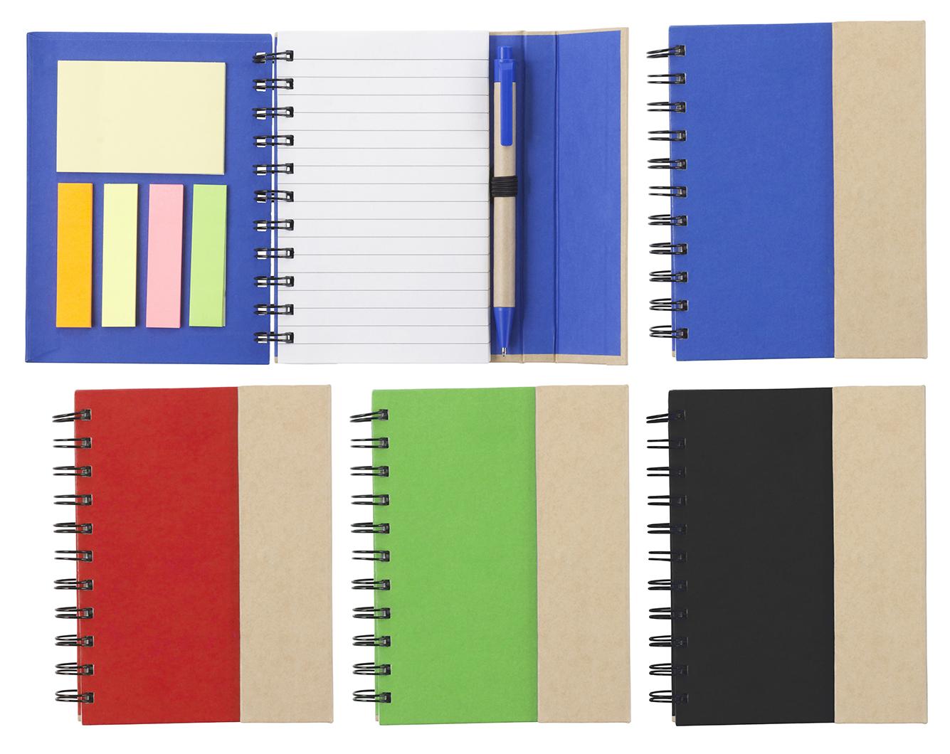 Branded Wire bound notebook.