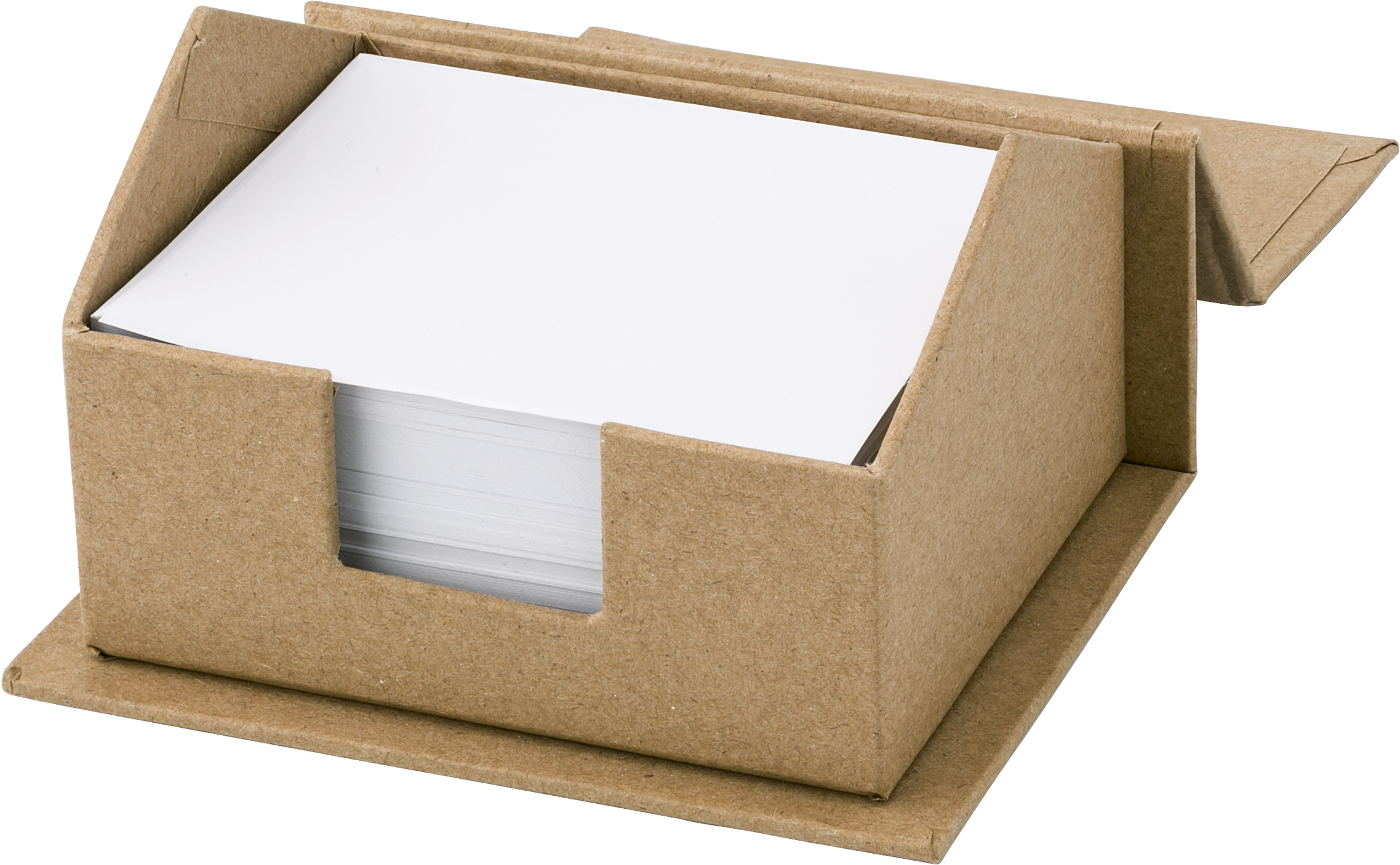 Branded House-shaped card memo holder.