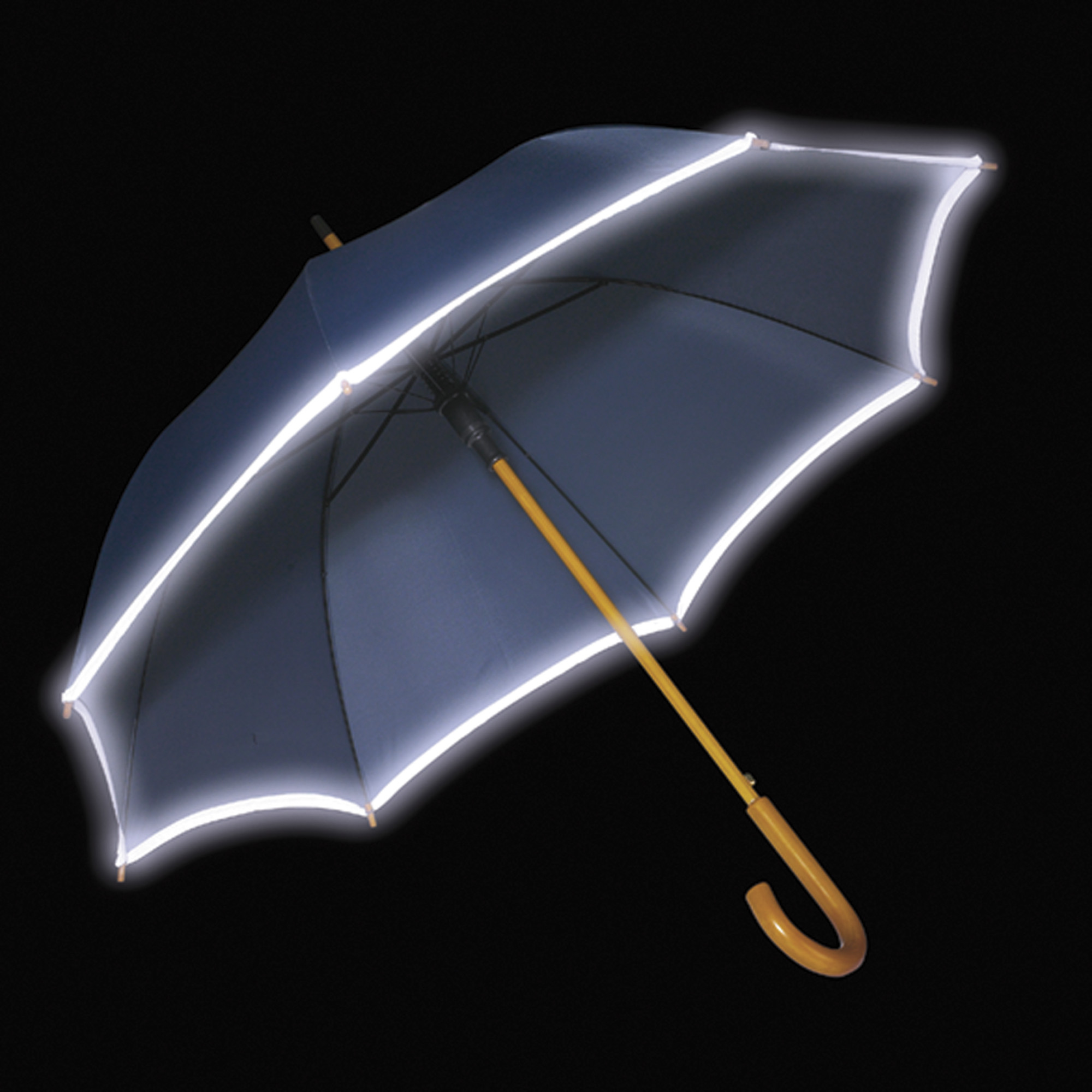 Branded Umbrella with reflective border