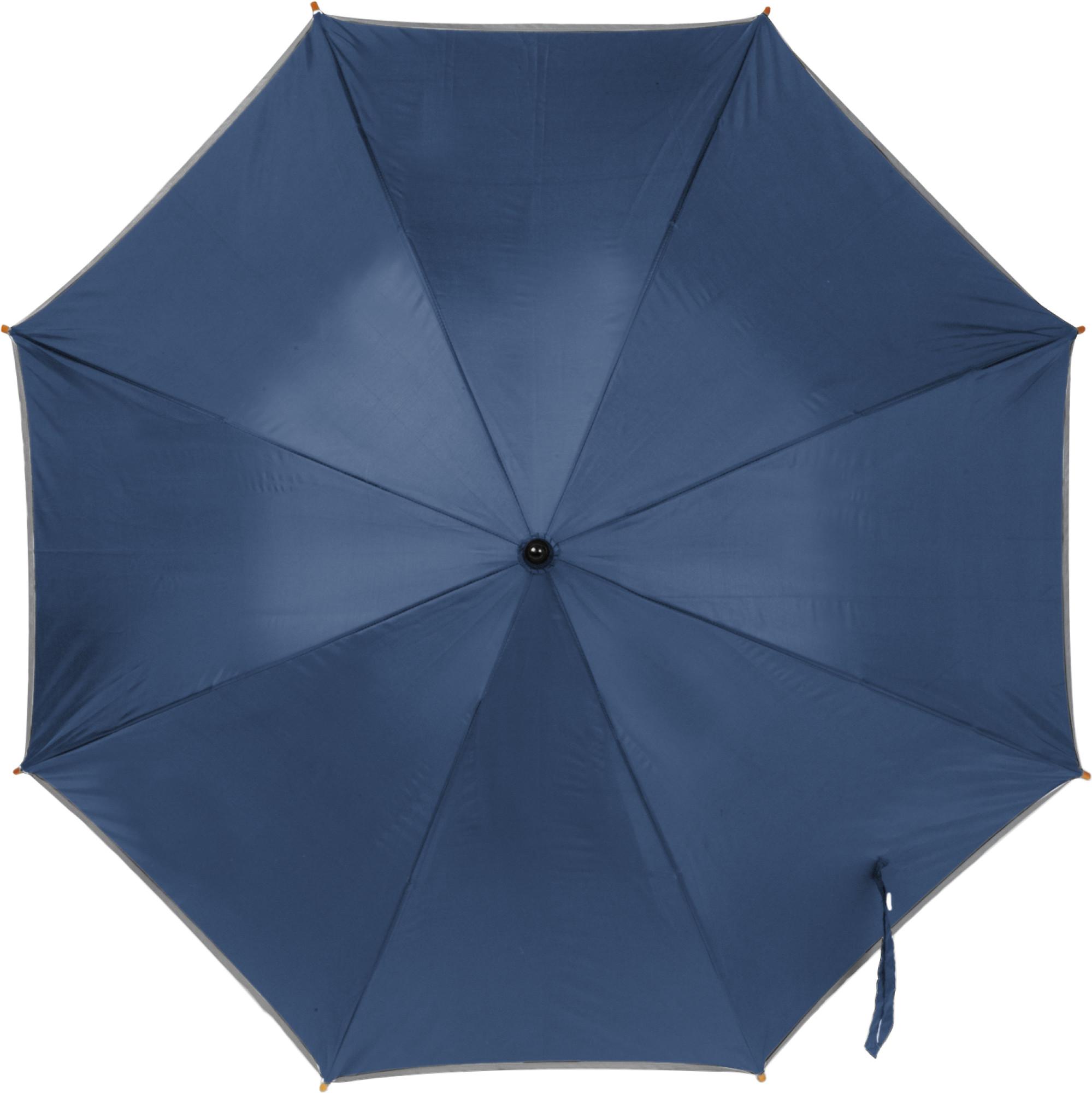 Printed Umbrella with reflective border
