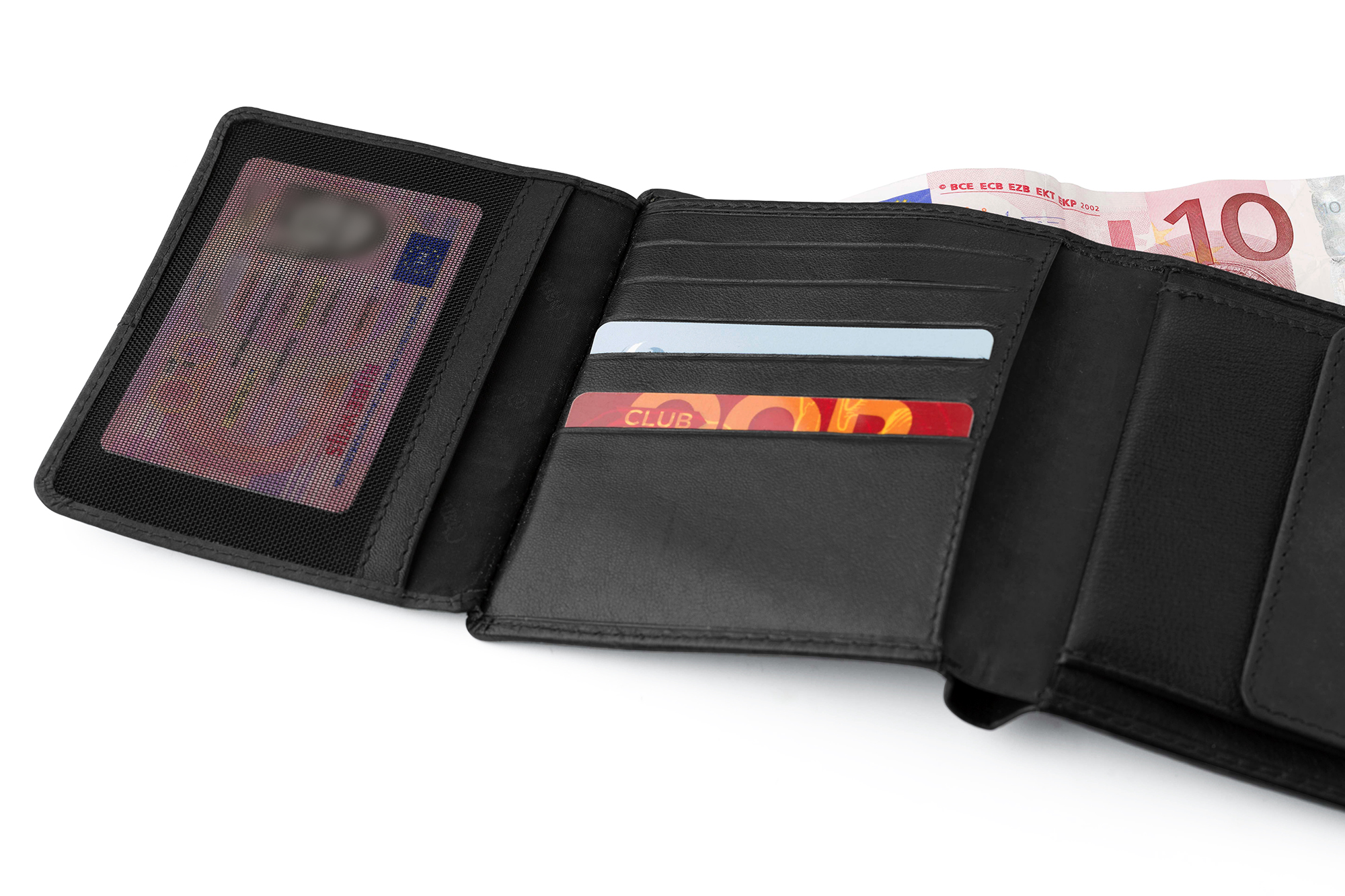 Promotional Leather Charles Dickens® wallet.