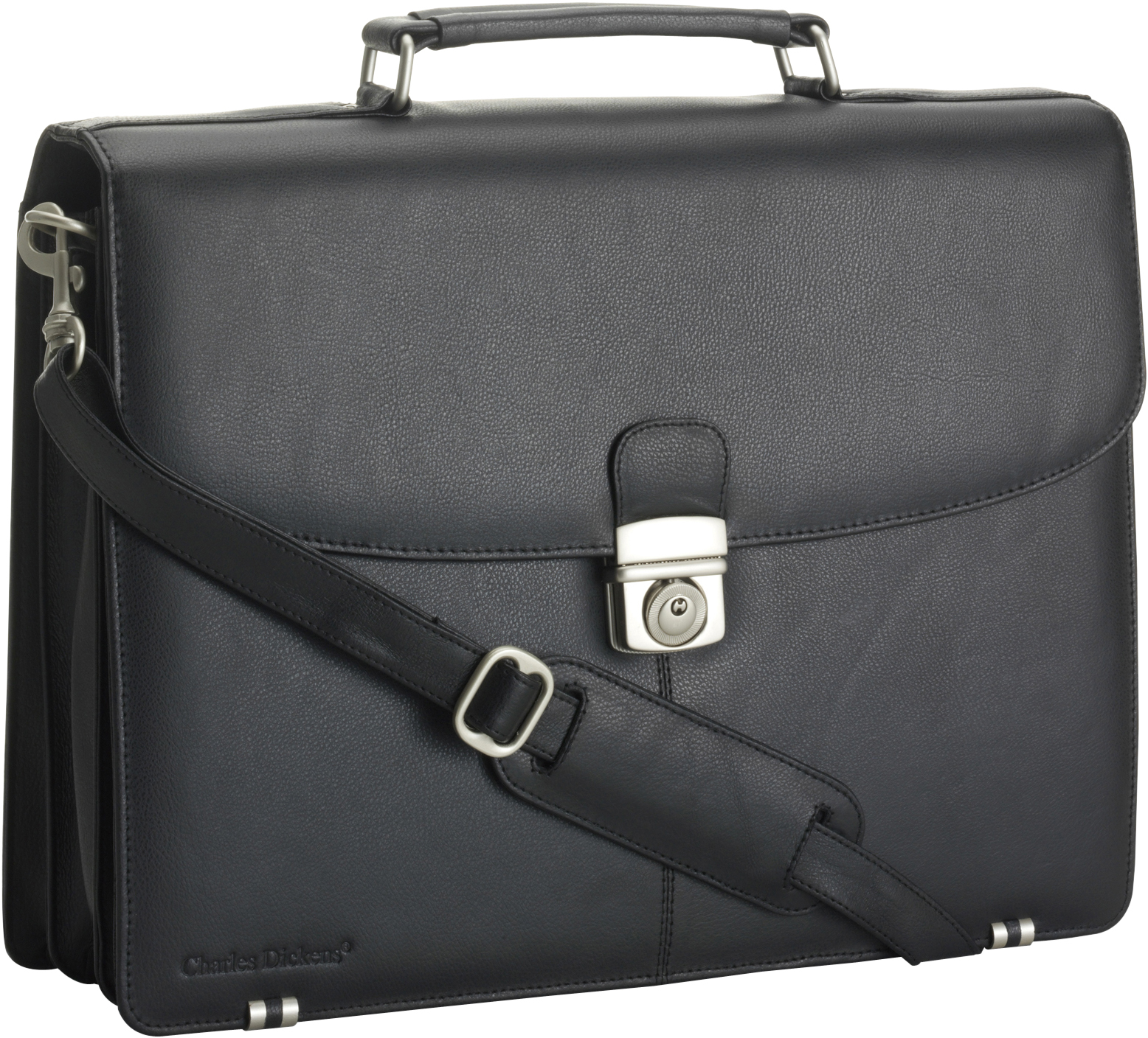Branded Charles Dickens briefcase