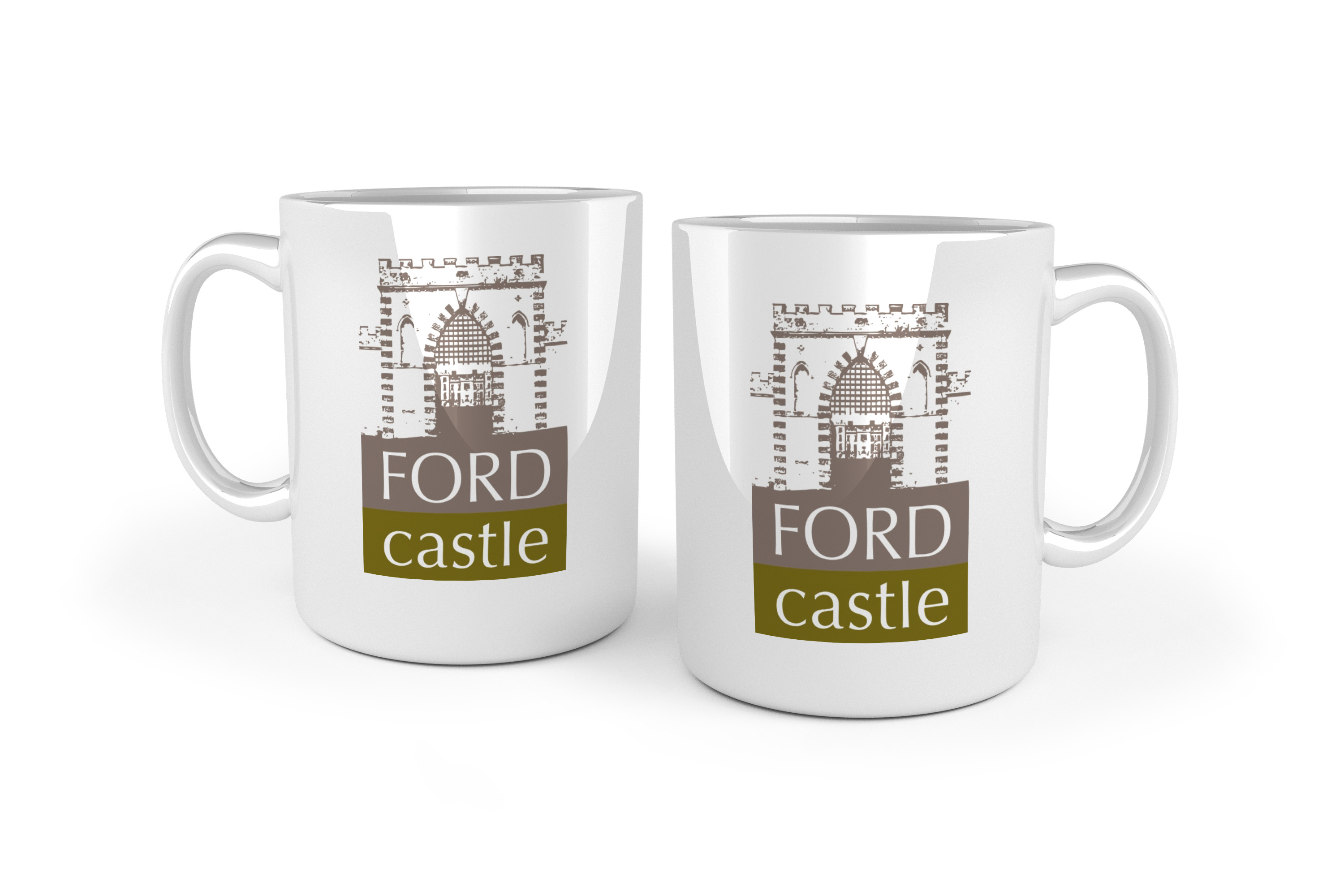 Promotional Cambridge Porcelain Mug