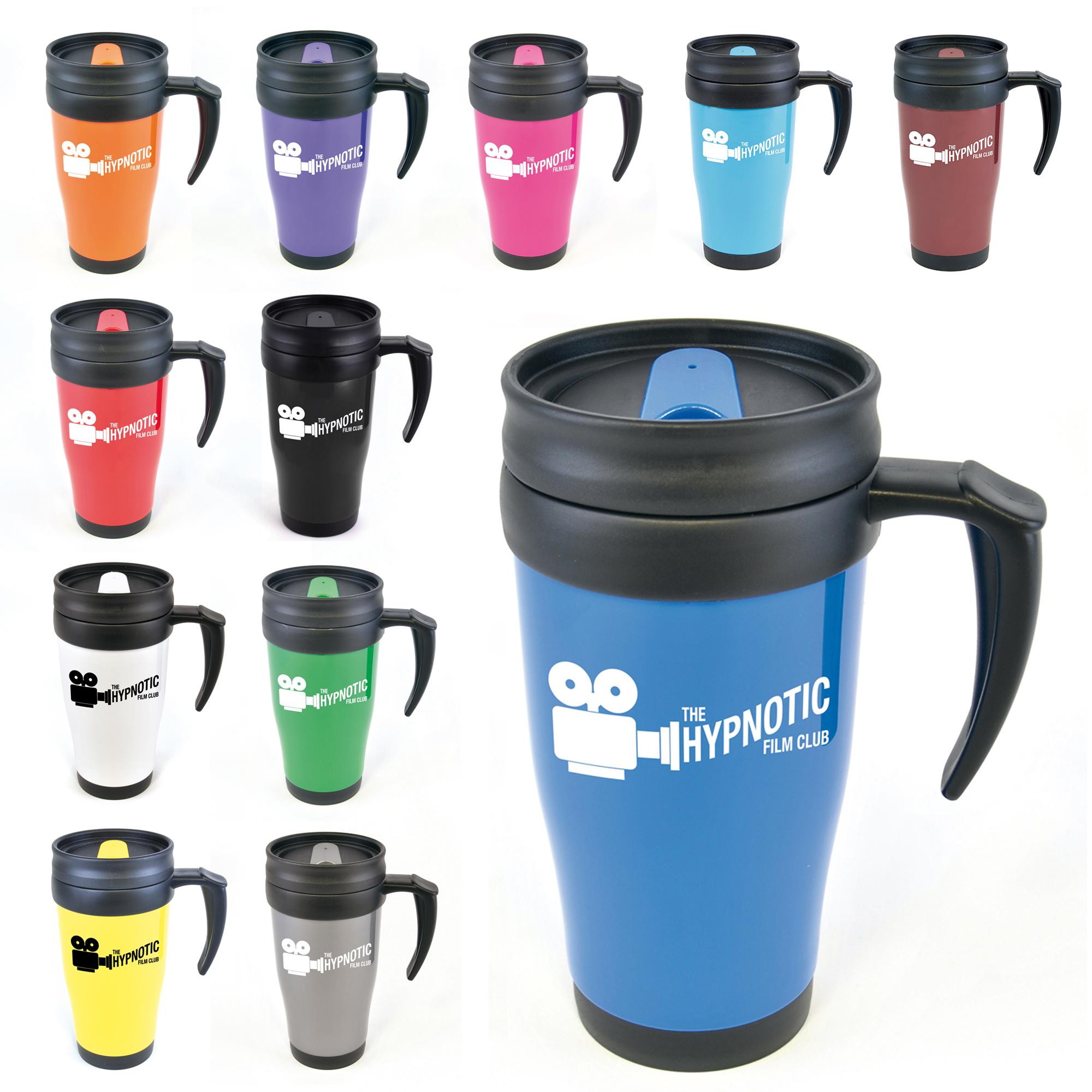 Printed Polo Plus Travel Mugs