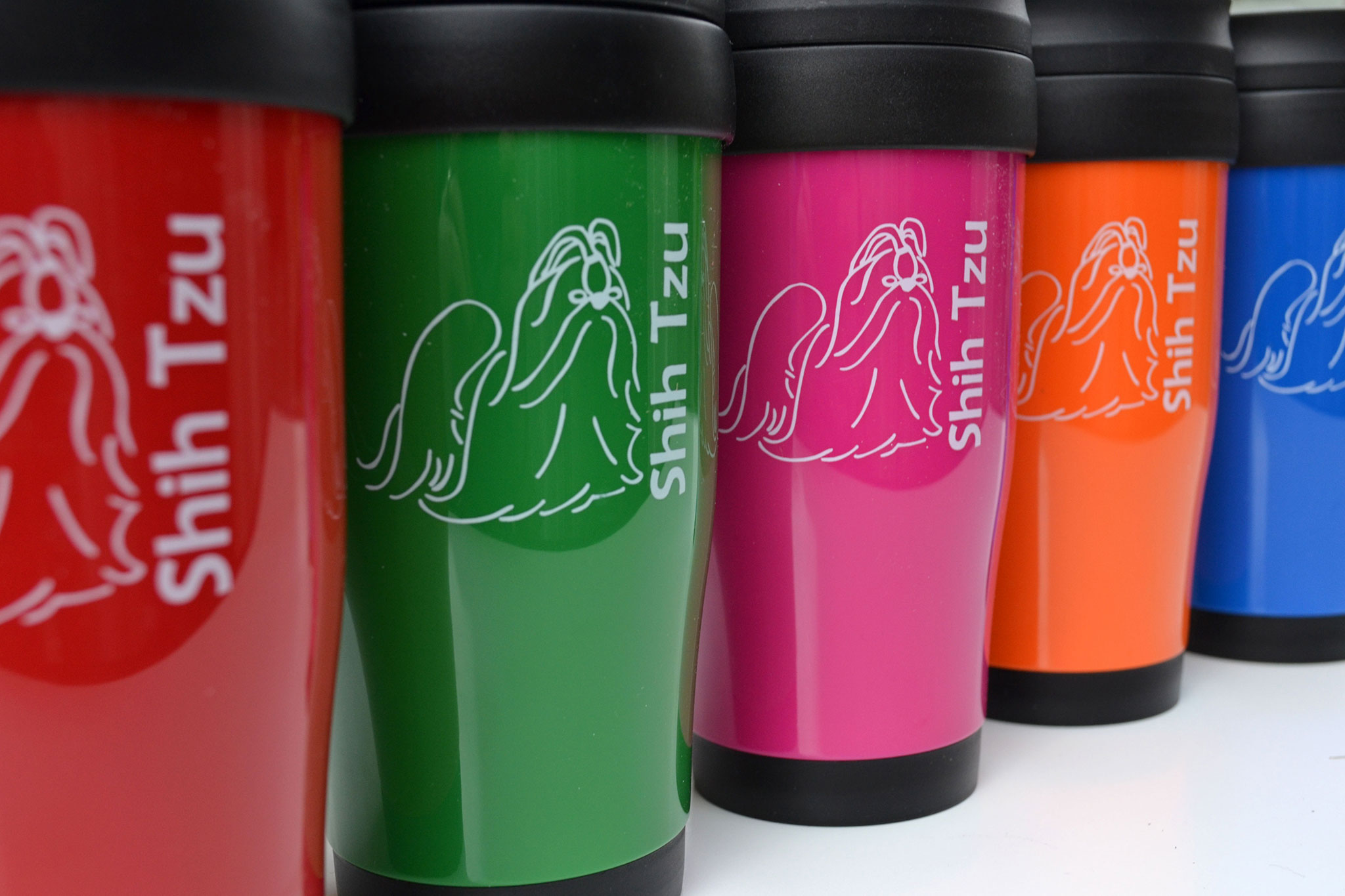Corporate Polo Plus 450Ml Plastic Double Walled Travel Mug