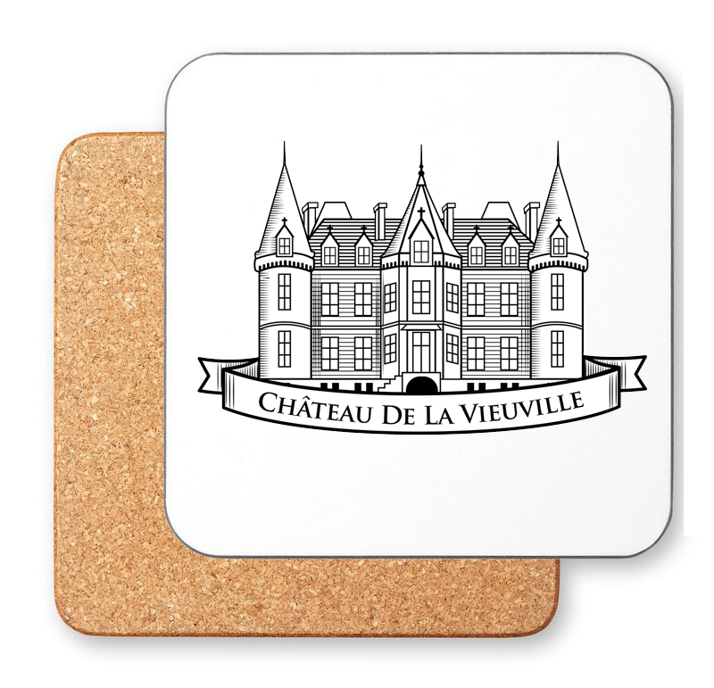 Branded Square Cork Coaster