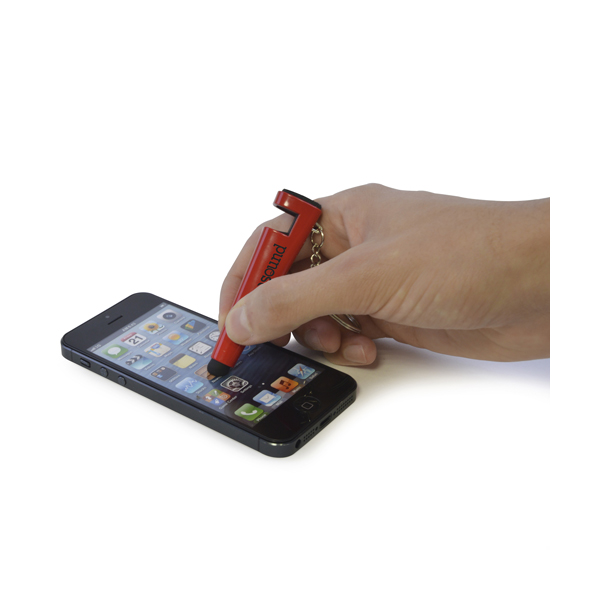 Printed Phone Stylus - Phone Stand Keychain - Pen Style