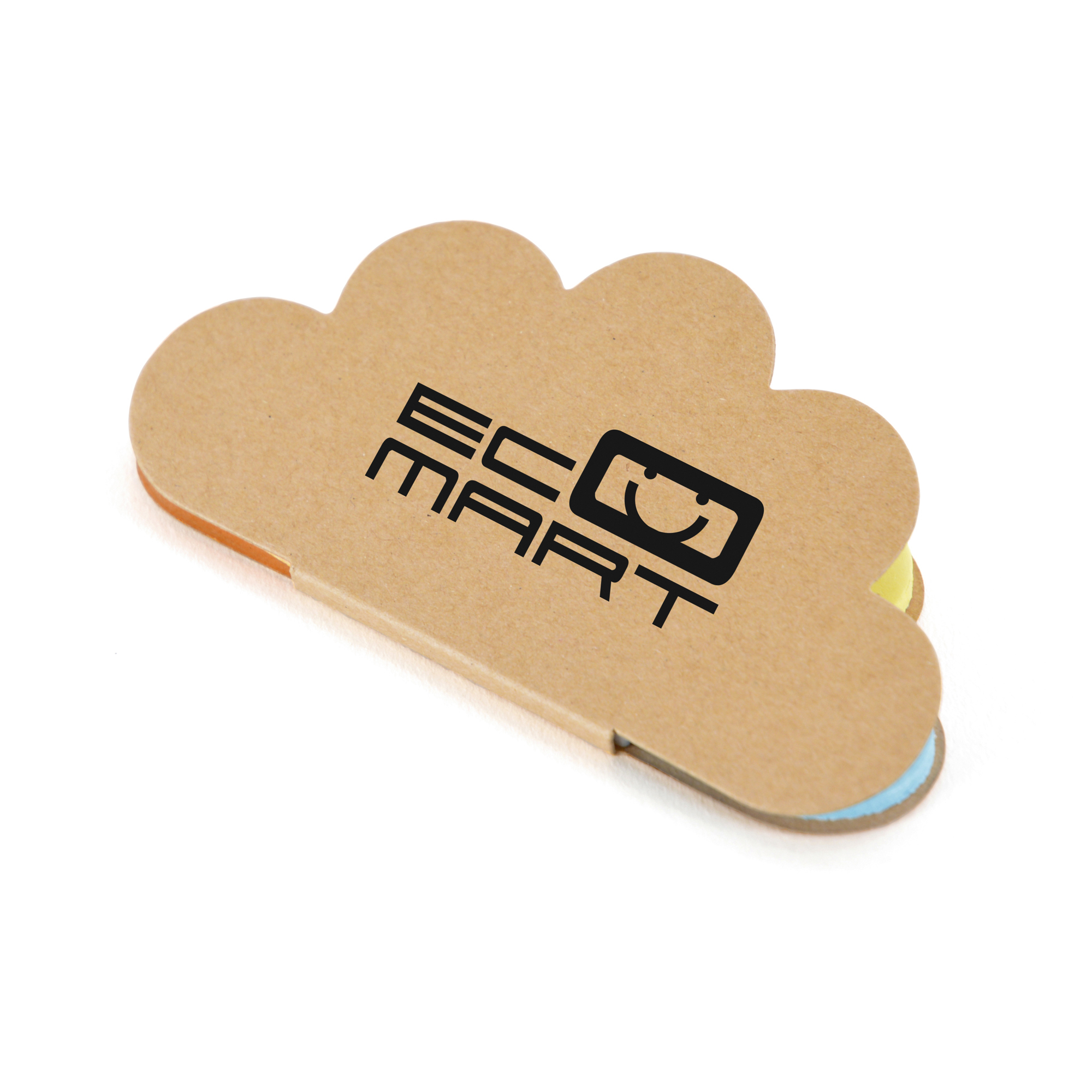 Branded Cloud Sticky Notes