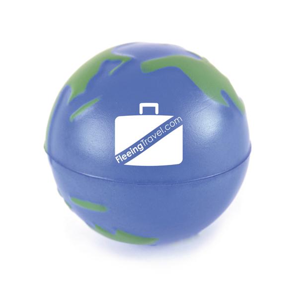Promotional Globe Shaped Stress