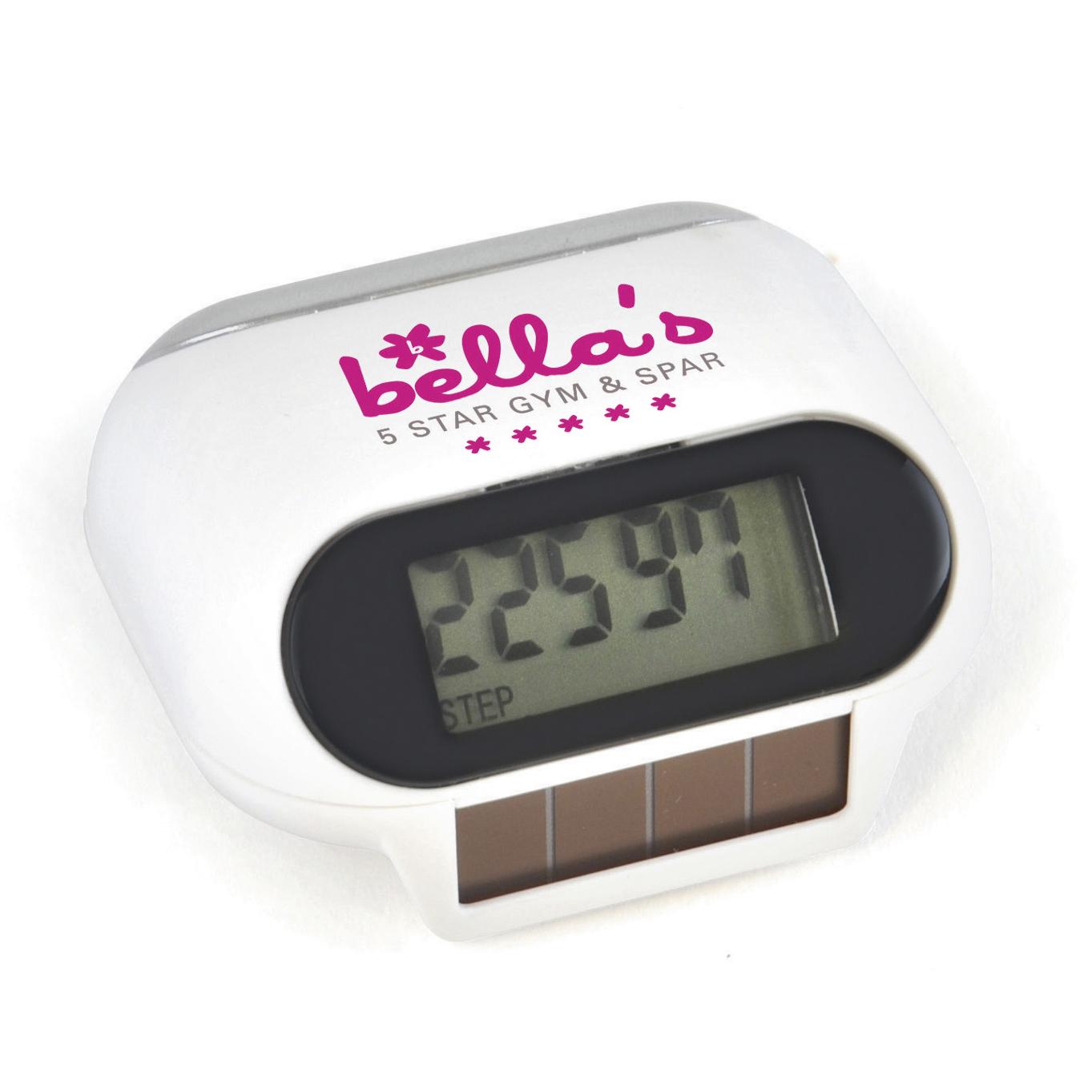 Promotional Mishnock Solar Pedometer