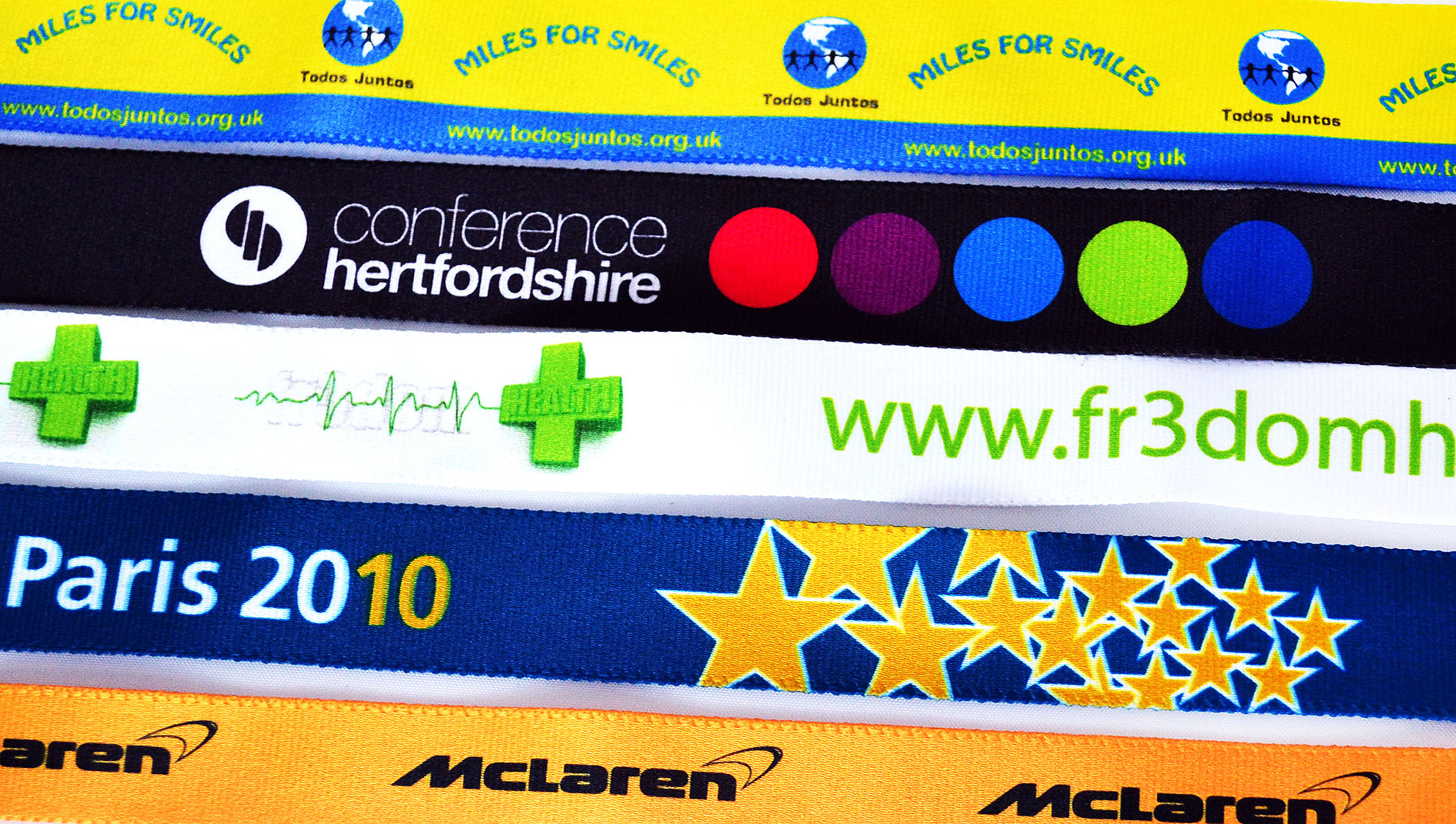 Promotional UK Dye Sublimation Lanyard