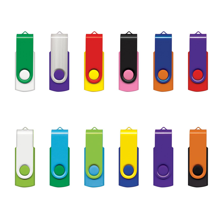 ImPrinted Twister USB Flash Drive