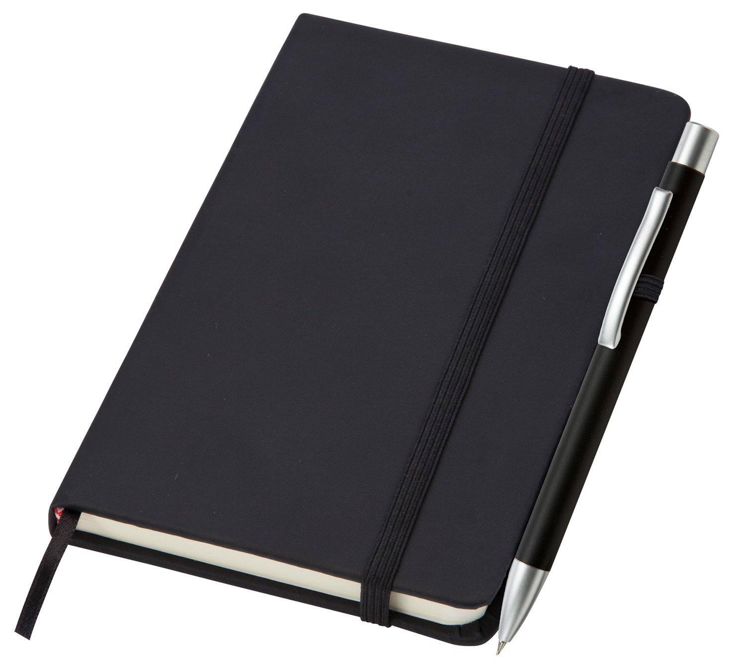 Corporate Small Noir Notebook (Curvy)