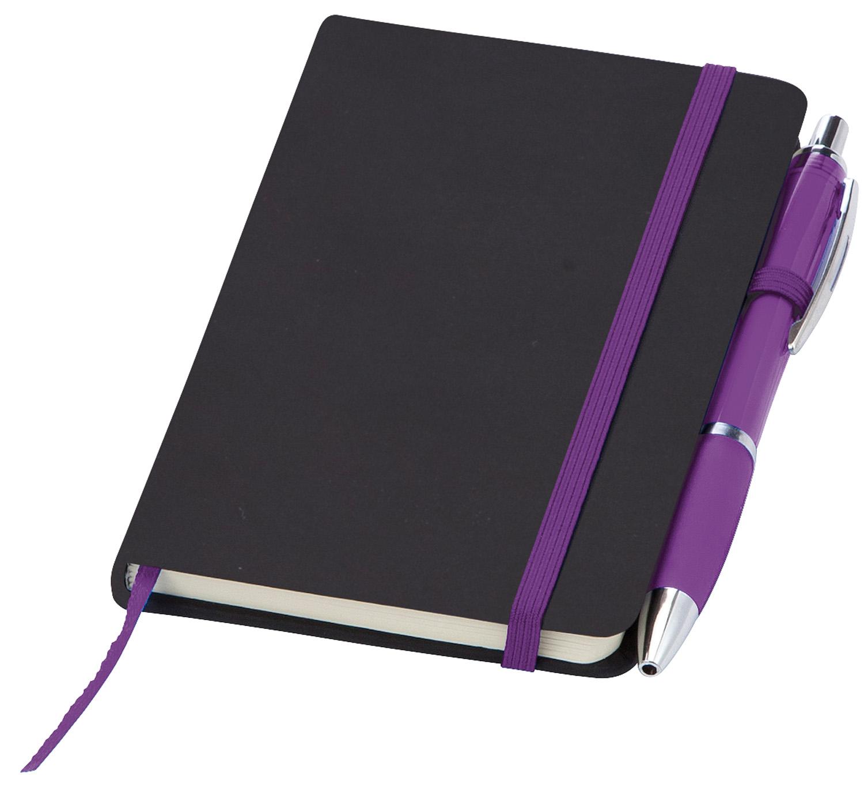 ImPrinted Small Noir Notebook (Curvy)