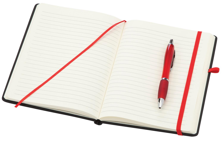 Branded Medium Noir Notebook (Curvy)
