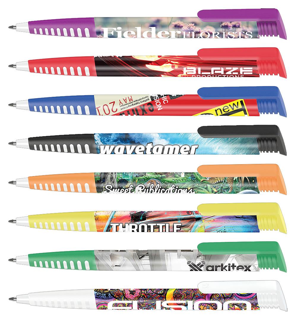 Promotional Albion Grip Ballpen (Full Colour Print)