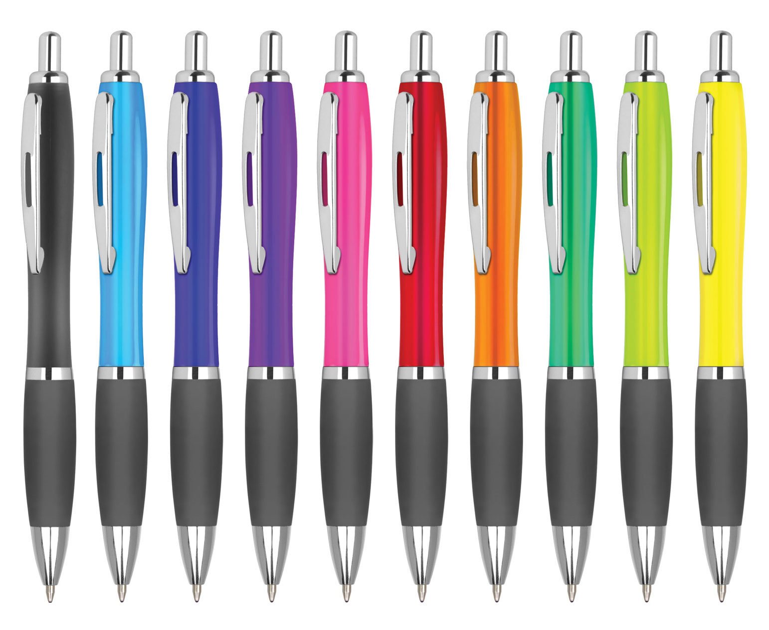 Promotional Contour Colour Ballpen