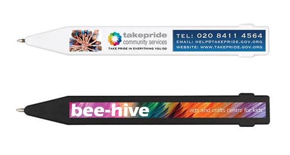 Promotional Magnet Pen (Full Colour Print) - WHITE ONLY