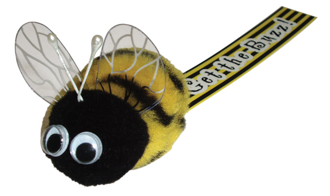 Promotional Custom Fluffy Bee Bug