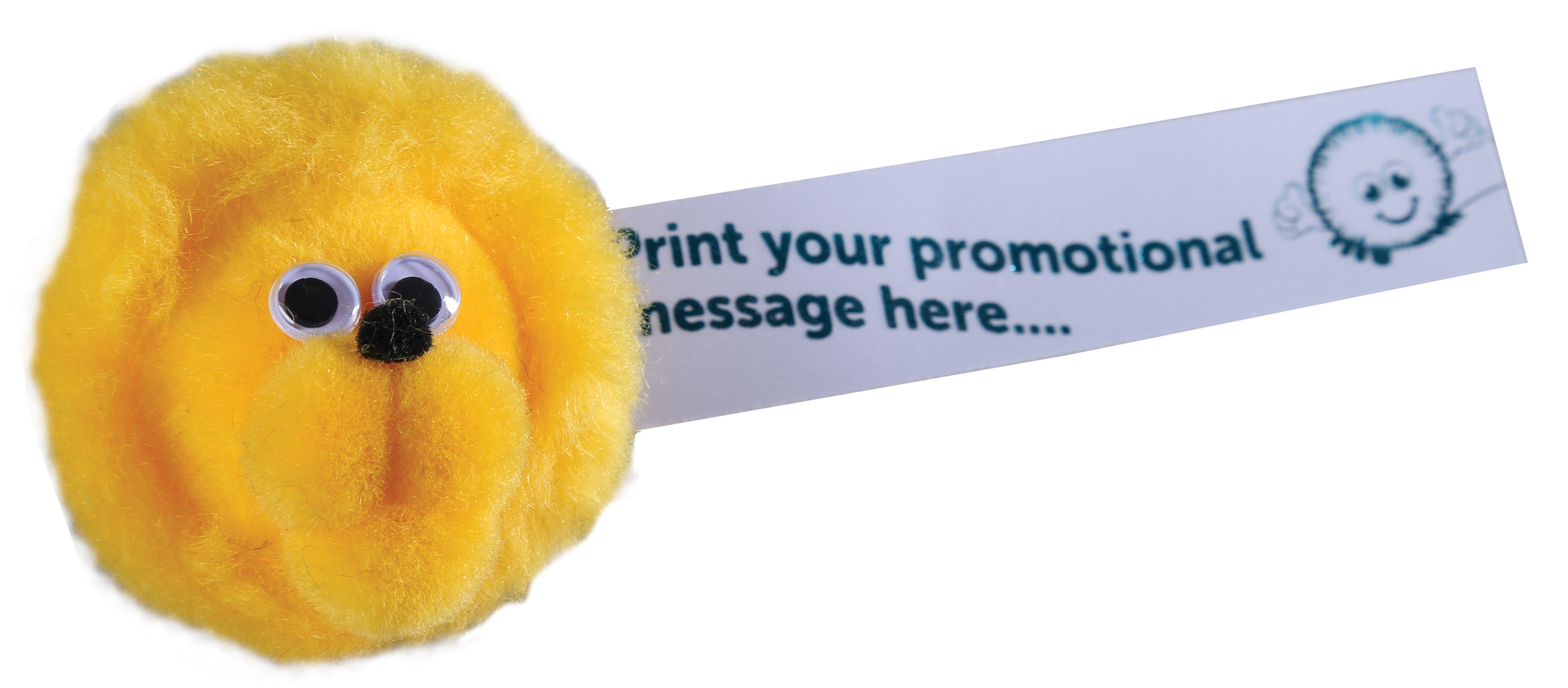 Promotional Printed Furry Lion Bug