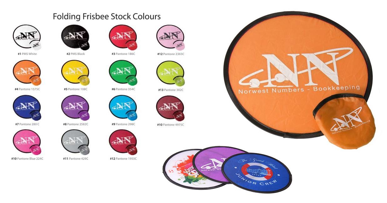 Promotional Folding Frisbees
