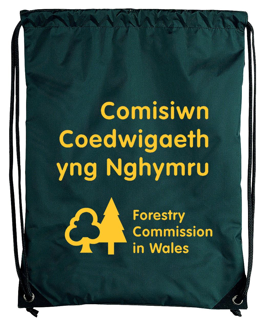 Embellished Pegasus Drawstring Bag