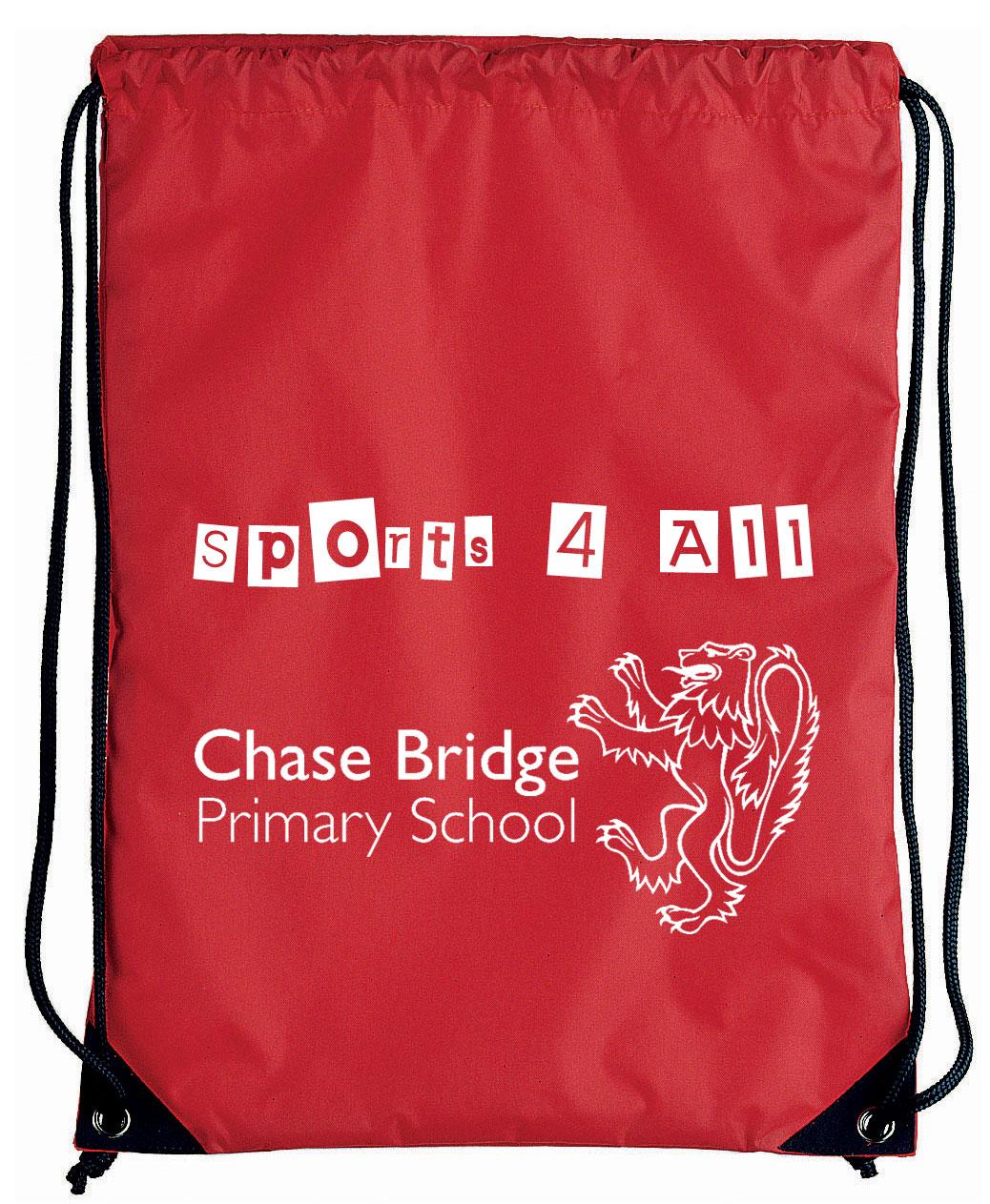 Printed Pegasus Drawstring Bag