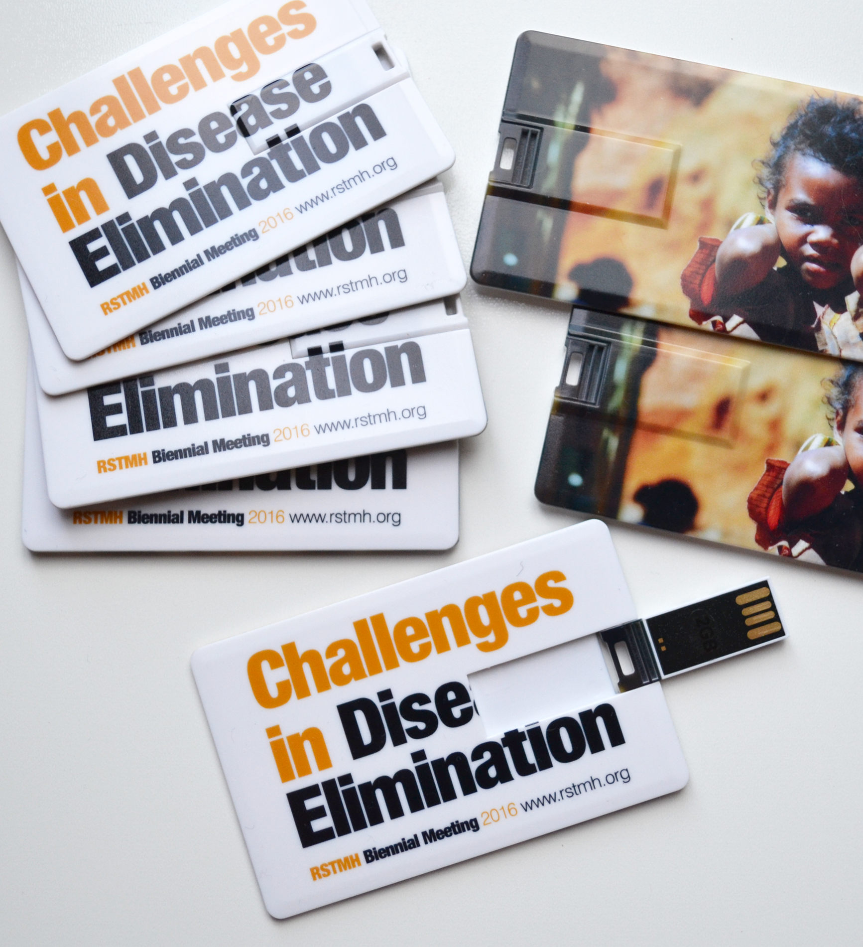 Promotional Credit Card USB Flash Drive - 4GB